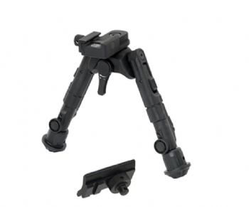 "Leapers UTG Recon 360 TL Bipod 5-7"" Center Picatinny TL-BP02-A"